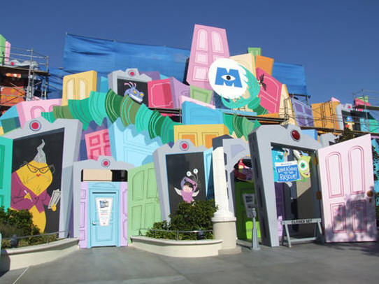 Monsters Inc. ride at DCA
