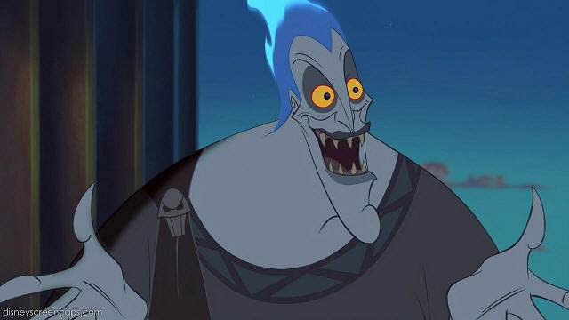 Hades has been voiced by two different people: James Woods provides ...